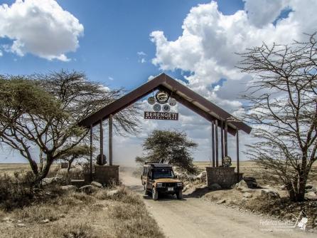 Ingresso nel Serengeti