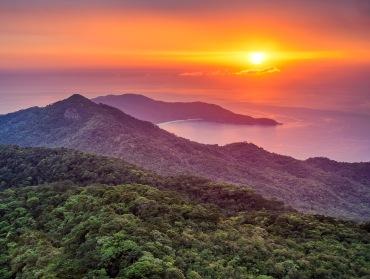 Ilha Grande, dalla punta del Pico do Papagaio